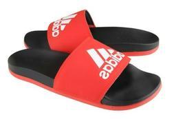 Adidas Men ADILETTE CLOUD FOAM PLUS Slipper Training Red Sho