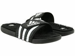 Men Adidas Adissage Slides Sandal 078260 Color  Black/ Runni