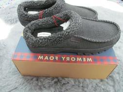 men clog slippers memory foam comfort in