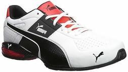 PUMA Men's Cell Surin 2.0 FM Sneaker White Black,  - Choose