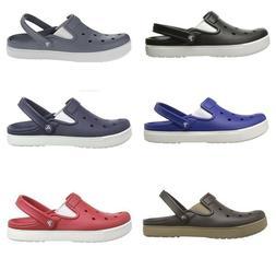 CROCS Men's CitiLane Clog Slide Slippers Multi-Color sz 10,