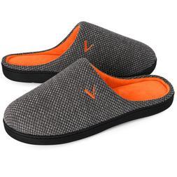 VONMAY Men's Comfort Memory Foam Slippers Cozy Slip on Anti-