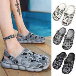 Men's Garden Clogs Water Boat Shoes Sandals Beach Pool Showe