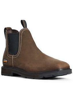 Ariat Men's Groundbreaker Water Resistant Work Boot - Steel