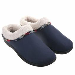 VONMAY Men's Comfort Memory Foam Slippers Plush Lining Warm