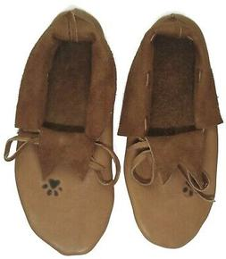 Men's Moccasin Handmade size 11 Native American Plains Style