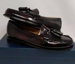 Cole Haan Men's Pinch Tassel Loafer, Burgundy