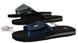 Men's Sandals Flip Flop AIR Slip On Beach Slide Adjustable S