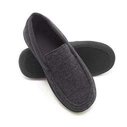Hanes Men's Slippers House Shoes Moccasin Comfort Memory, Da