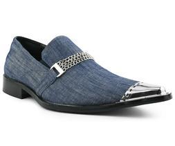 Men's Slippers, Slip On Loafers for Men, Exotic Patent Desig