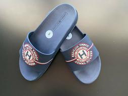 TOMMY HILFIGER Men's TMOSMAR-C Navy Logo Slide Sandal Slippe
