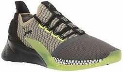 PUMA Men's Xcelerator Sneaker, Asphalt Black-elm-F - Choose