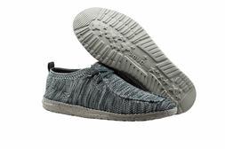 Men Hey Dude Wally Knit Slipper 111273039 Multi Grey 100% Or