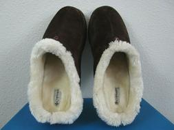 Mens 12-13 Columbia Dunmore Hill Casual Leather Slippers Sli