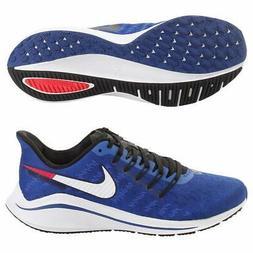 Nike Mens  Air Zoom Vomero 14 Synthetic Running Shoe, Indigo