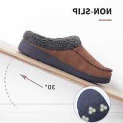 mens moccasin slippers warm house shoes