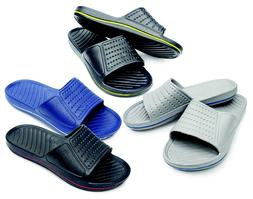 mens slipon sport slide sandals flip flop