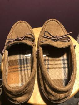 Mens Slippers Jockey Sz: 9.5-10.5 M Slip Ons Loafers  Brown