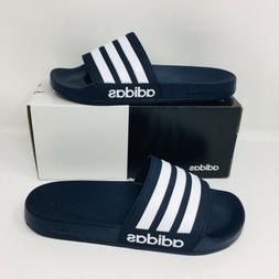 *NEW* Adidas Adilette Shower Men Slide Navy Blue Slippers Fl