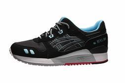 New Asics H637Y.9090 GEL Lyte III Black Unisex Running Mens