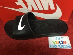 New Nike Kawa Shower 832528-001 Black Slippers Men SZ 8-13 F
