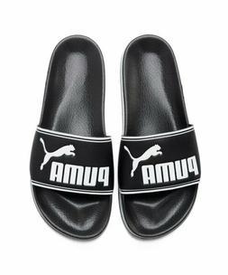 New Puma Leadcat Slides - Black, Beach Slippers Sandals Aqua