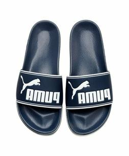 New Puma Leadcat Slides - Navy, Beach Swim Slippers Sandals