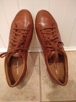 NEW Cole Haan Men's British Tan Leather Berkley Sneaker Shoe