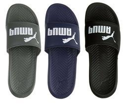 NEW Puma Men's PopCat Logo Fashion Beach Shoes Slip On Slide