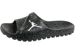 NEW Men's Size 12 Air Jordan Super Fly Team Slides Black Sli