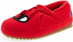 new men s university slippers red slip