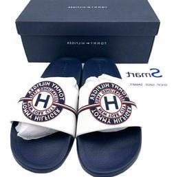 NEW SIZE 12-13 MEN Tommy Hilfiger Logo USA Slides Sandals Sl