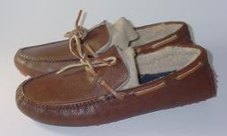 NEW w def Cole Haan Men's Fur Slipper Slip On Loafer Shoe Le
