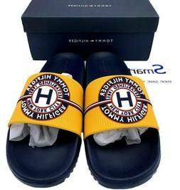 NIB SIZES 11-13 MEN Tommy Hilfiger Logo USA Slides Sandals S