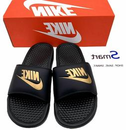 NIB SIZES 8-13 MEN Nike Benassi JDI Logo Slides Sandals Slip