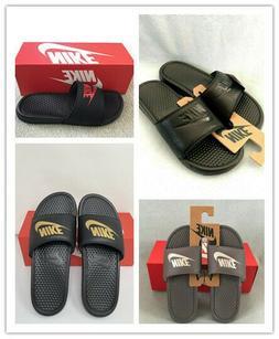 NWT Nike Benassi JDI Men's Slide Slipper Multi Color  343880
