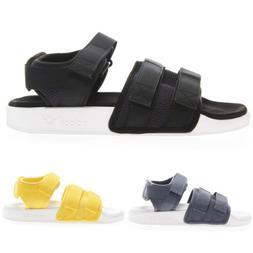 Adidas Original Adilette Sandal 2.0 Slippers Black Yellow Gr