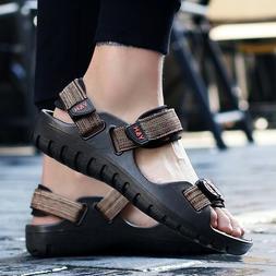 Outdoor Sandals Shoes Casual Walking Beach Shoes Men's Flats