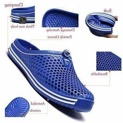 Slip On Garden Mules Clogs Shoes Sports Sandals Beach Water