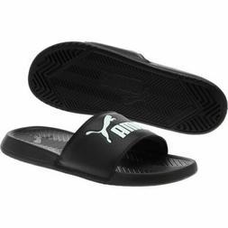 slippers sandals popcat slide 360265 10 black