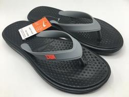Nike Solay Thong Men Size 11 Black Bright Crimson Sandals Fl
