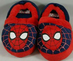 Marvel Spider-Man Toddler Slippers House Shoes Size 7/8 Medi