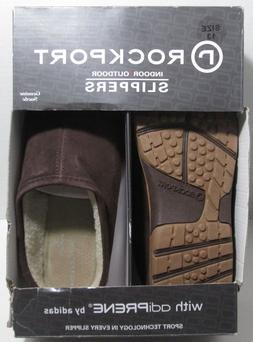 Rockport Suede Indoor/Outdoor Slippers Mens Size 13  R800 -