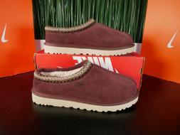 tasman burgundy maroon red mens slippers 5950