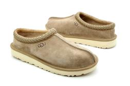UGG Tasman C.F. Stead Sand Color Leather Wool Insole Slipper