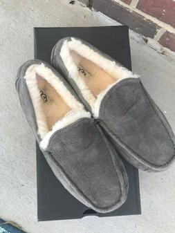 UGG ascot gray slippers size 10 mens new in box