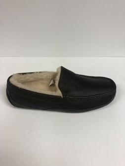 Ugg M Ascot Men's Size 13 Extra Wide 3E Dark Brown Slipper