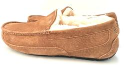 Ugg Men's Ascot Chestnut Slippers Water-Resistant Suede and