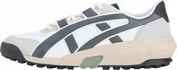 Asics Onitsuka Tiger Unisex BIG LOGO TRAINER Shoes White/Bla