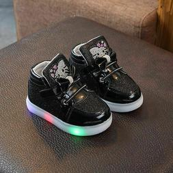 Unisex's Glowing Sneakers Shoes LED Light LED Light Spring A